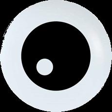 Witte ogen Eye Ball ballonnen (50 stuks)