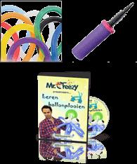 TIP: voordeelpakket Leren ballonplooien met DVD
