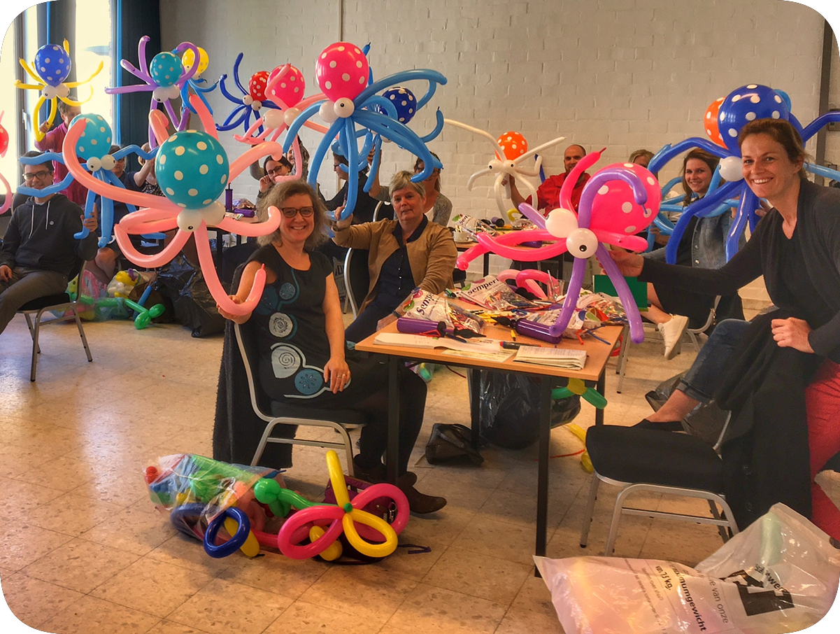 Workshop ballonplooien (Genk)