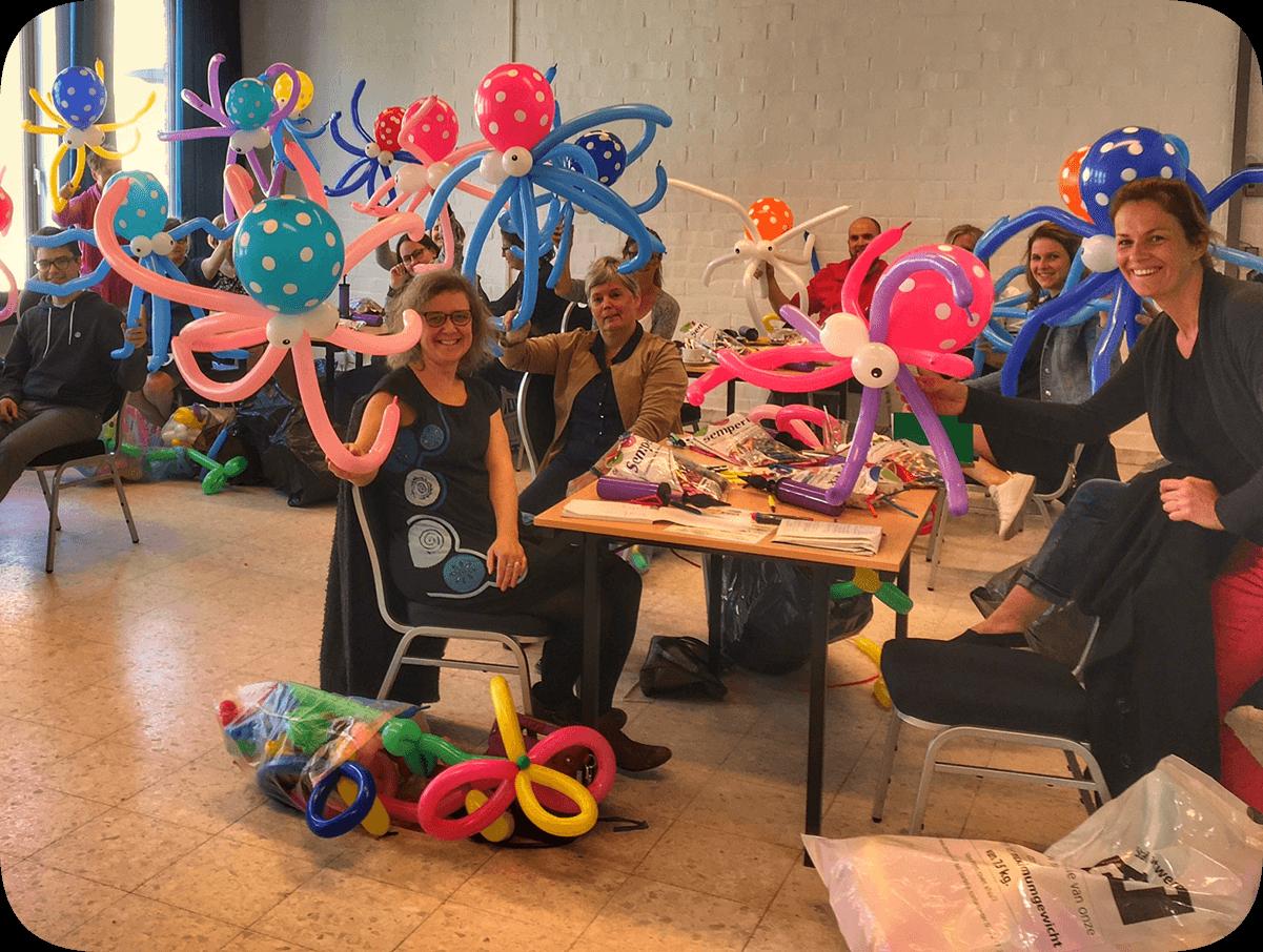 Product: Workshop ballonplooien (Hoboken)